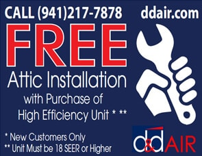 Free Attic Install Coupon