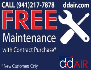 Sarasota Air Conditioning Maintenance Coupon
