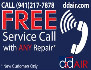 Air Conditioning Sarasota Free Service Call